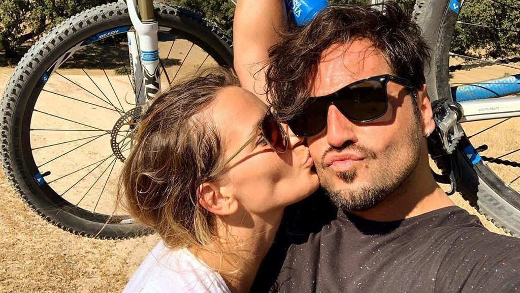 """El entrenamiento en pareja de David Bustamante y Yana Olina: """"Contigo todo"""""""
