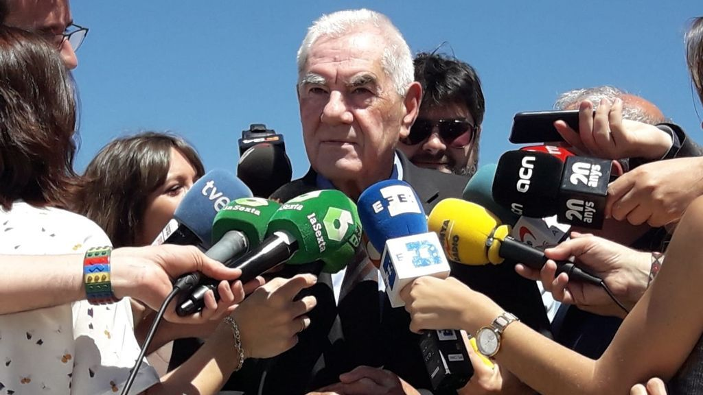 Maragall y Artadi visitan a Junqueras en la cárcel para estudiar los pactos en el ayuntamiento de Barcelona