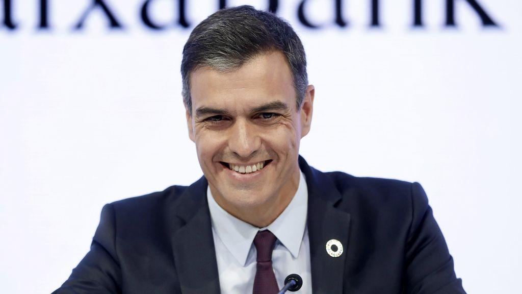 """Sánchez: """"España quiere avanzar y tiene que ser con justicia social"""""""