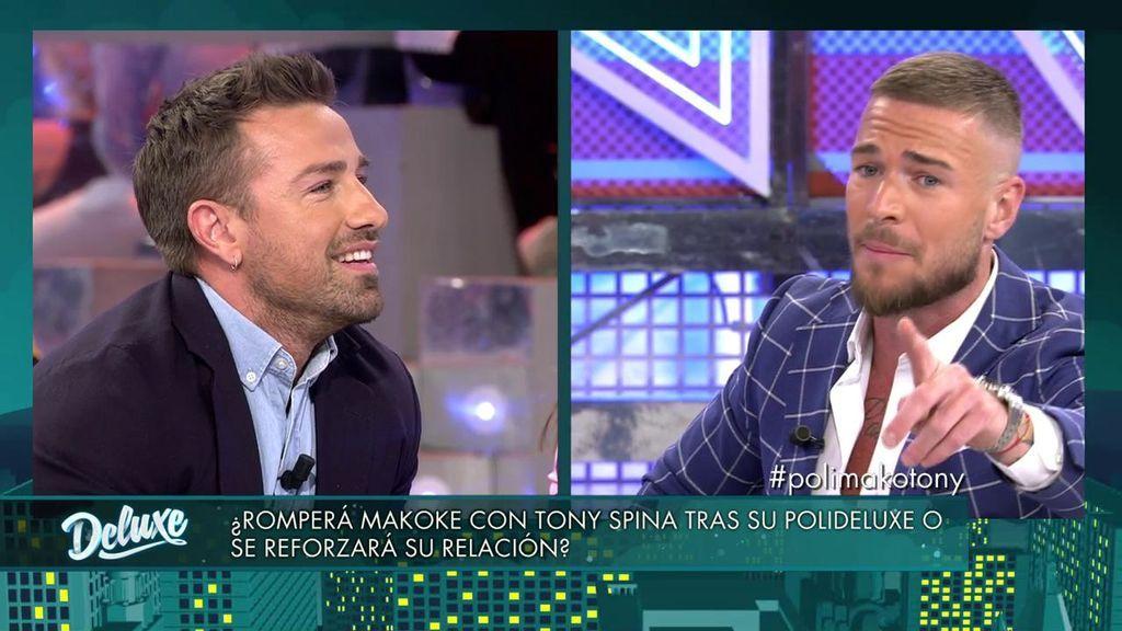 Tony Spina y Makoke, cara a cara contra Rafa Mora