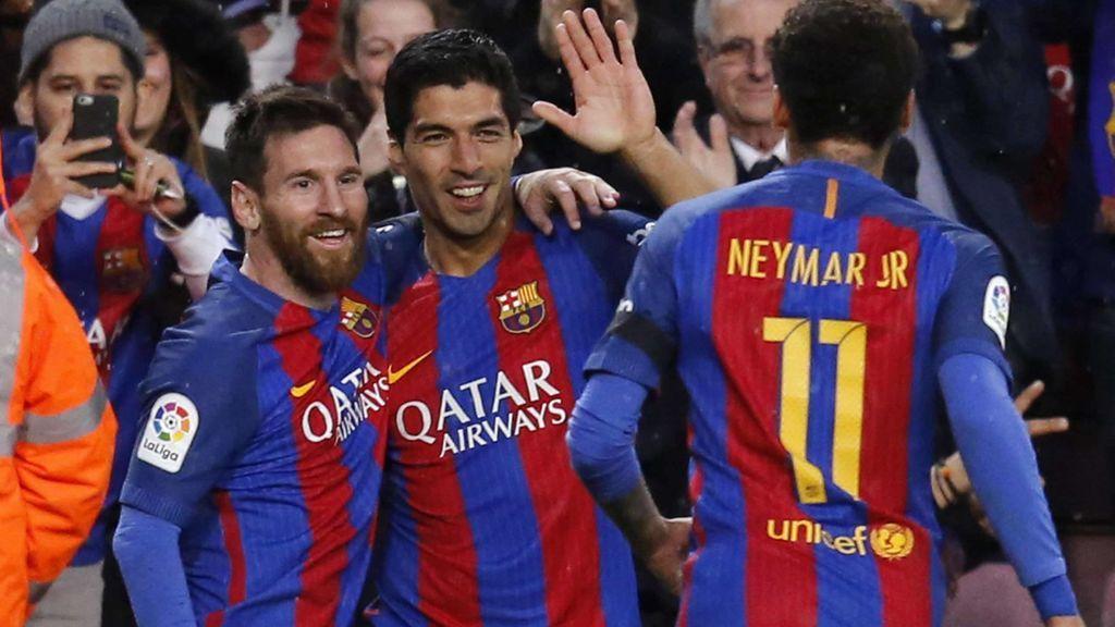 'Los tres sudacas': el nombre del grupo de whatsapp entre Messi, Neymar y Luis Suárez