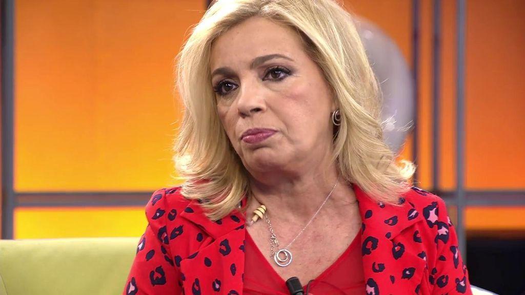 """El mensaje de Carmen Borrego a sus excompañeros de 'Sálvame': """"Me gustaría hablar con ellos para solucionarlo"""""""