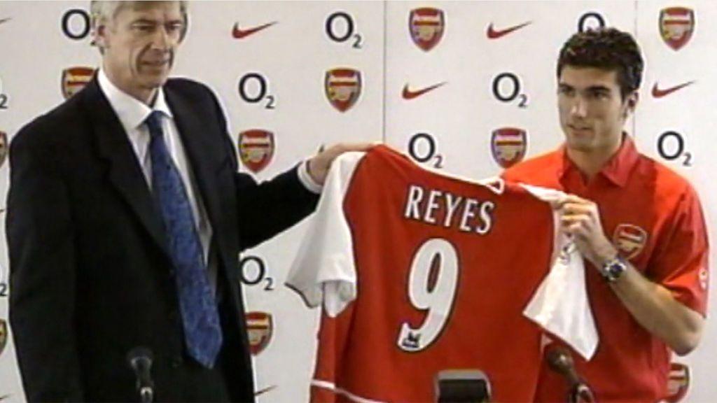 José Antonio Reyes, la humilde joya sevillista que triunfó en Inglaterra
