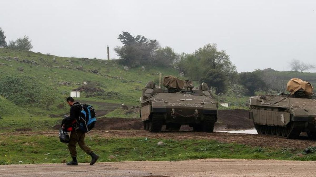 Israel ataca Siria y acusa al régimen sirio de lo sucedido