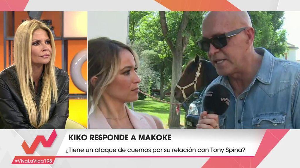 """El mensaje que mandó Kiko Matamoros a Makoke y Tony tras el 'Deluxe': """"Me dais vergüenza"""""""