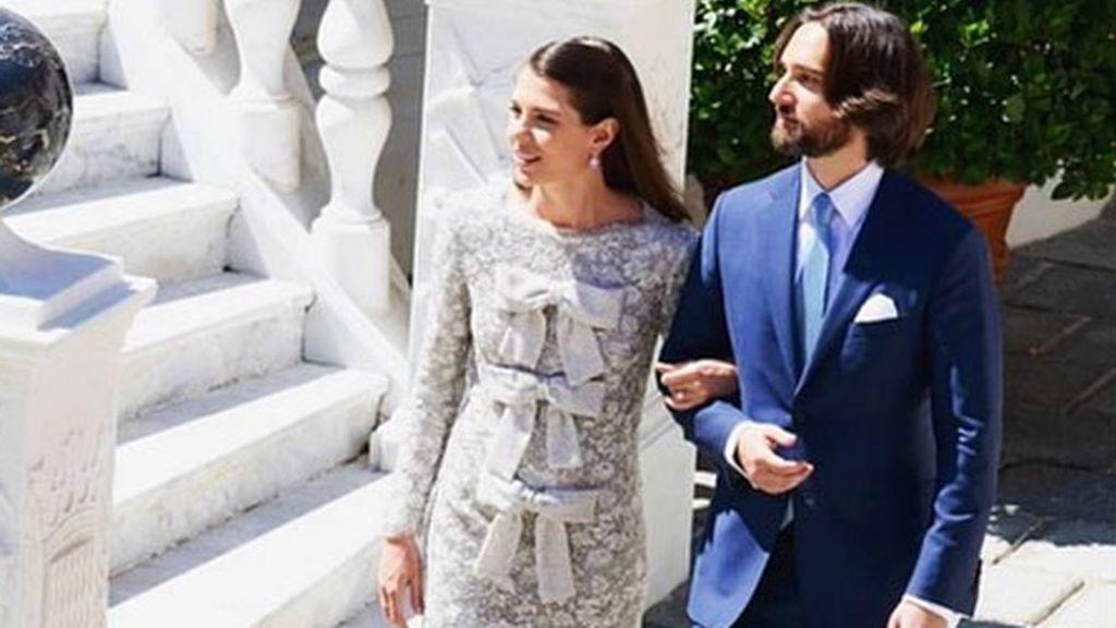 Aciertos y errores de la boda de Carlota Casiraghi y Dimitri Rassam