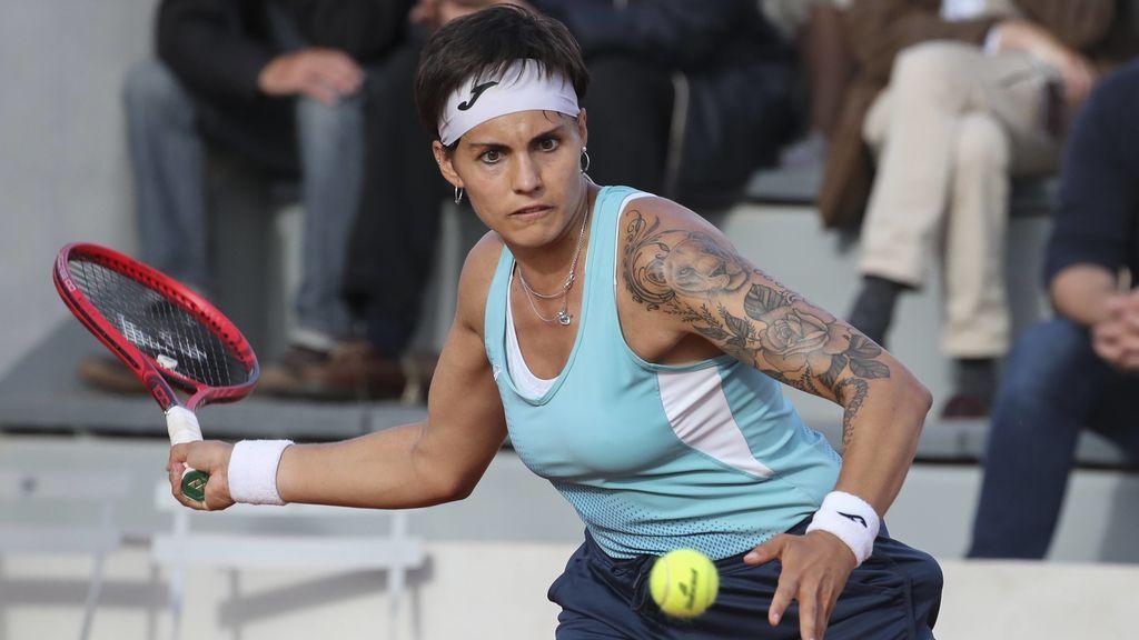 Aliona Bolsova cae ante Anisimova y deja a España sin representación femenina en Roland Garros (6-3,