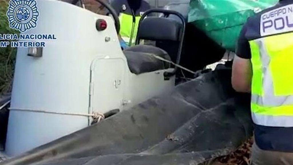 Golpe al narcotráfico en Gibraltar: casi 6 toneladas de hachís intervenidas y 14 detenidos