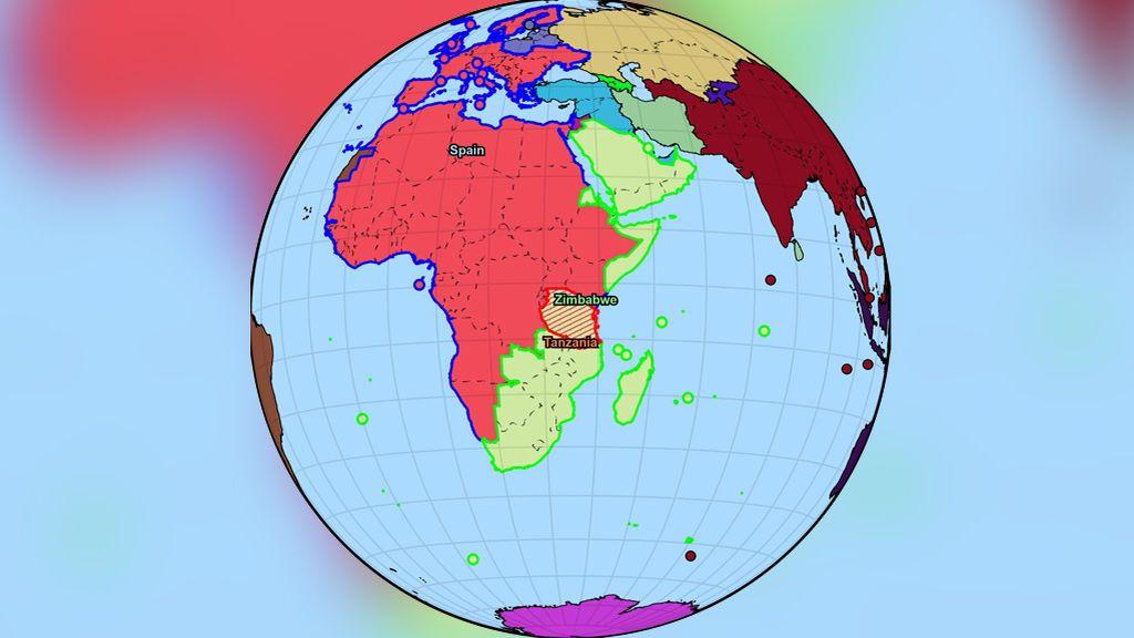 WorldWarBot 2020: el viral simulador de Twitter en el que España es una potencia mundial