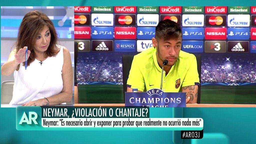 """Ana Rosa a Neymar: """"Eres un descerebrado chaval"""""""