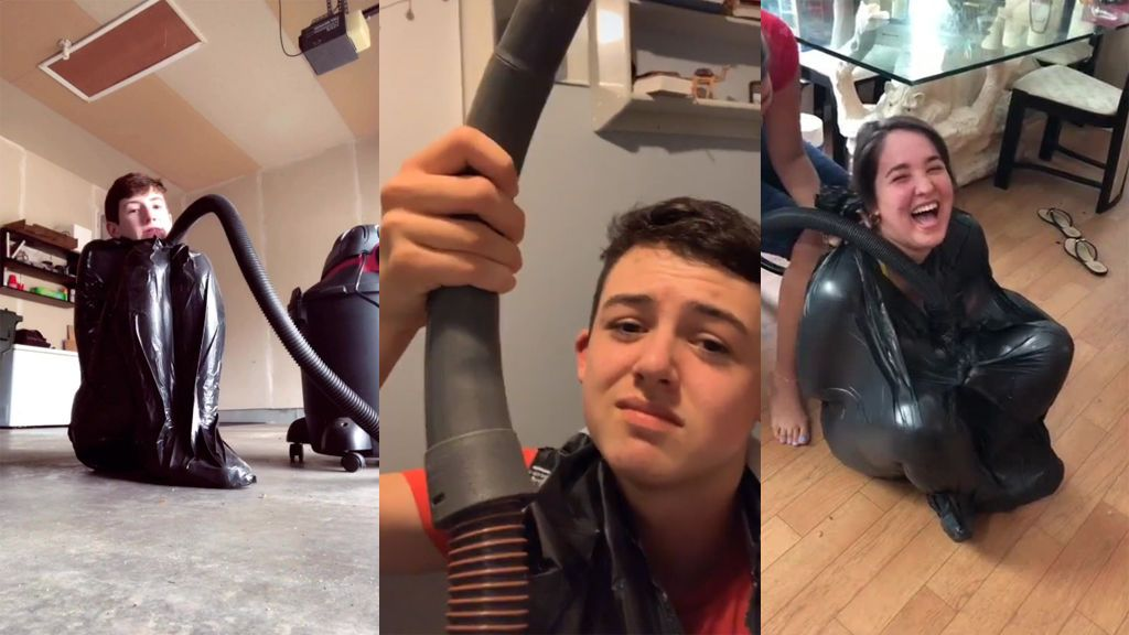 #VacuumChallenge: El peligroso reto que lo ha petado en Tik Tok