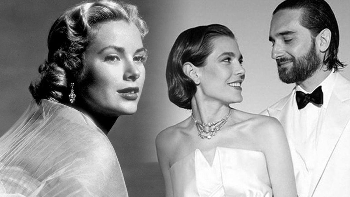 Homenaje a Grace Kelly:  los guiños estilísticos de Carlota Casiraghi y otras invitadas a la diva de Hollywood