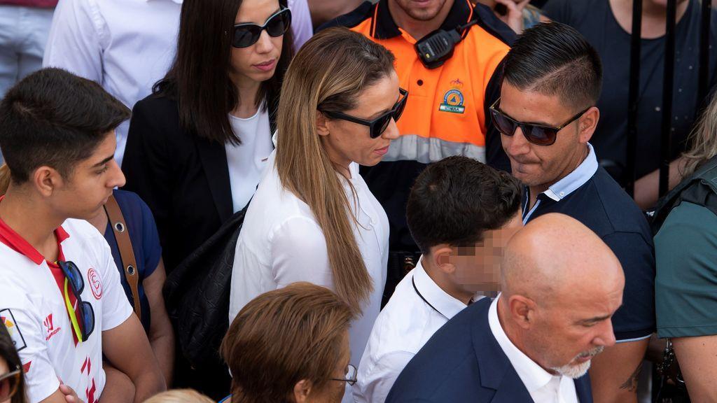 El último adiós al futbolista Reyes, imagen a imagen