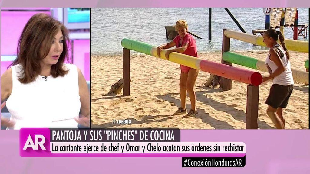 """Ana Rosa, a sus compañeros por un vídeo de Pantoja: """"Sois malos"""""""