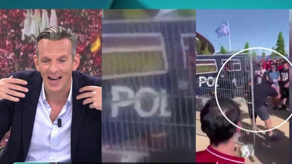 """Joaquín Prat, sobre la respuesta de la Policía a un ultra: """"Le pasa por tonto"""""""