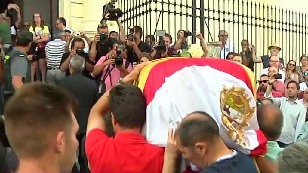 Despedida al futbolista José Antonio Reyes