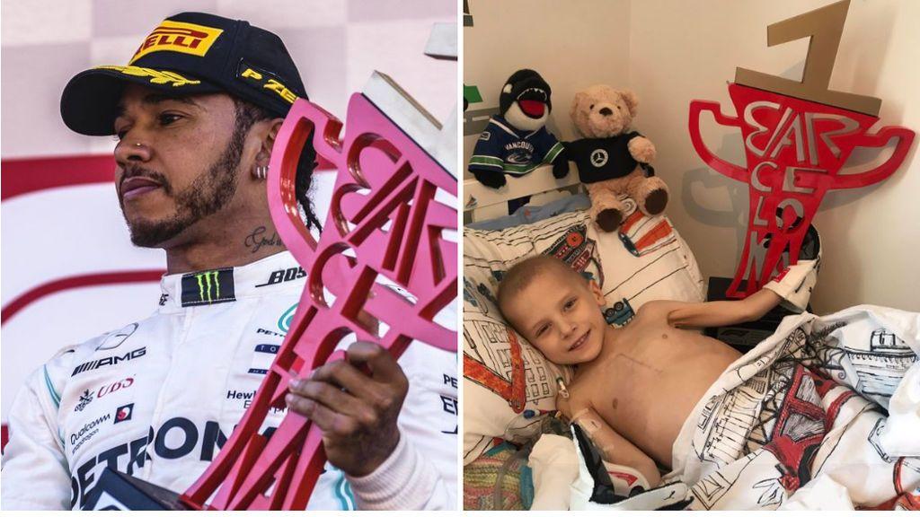 El mensaje de Hamilton al pequeño Harry, su inspiración en las últimas carreras, tras su fallecimiento