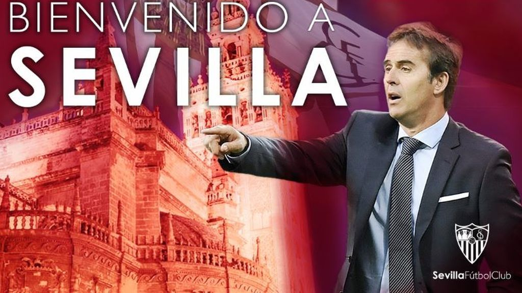 Ya es oficial: Lopetegui será entrenador del Sevilla las próximas tres temporadas