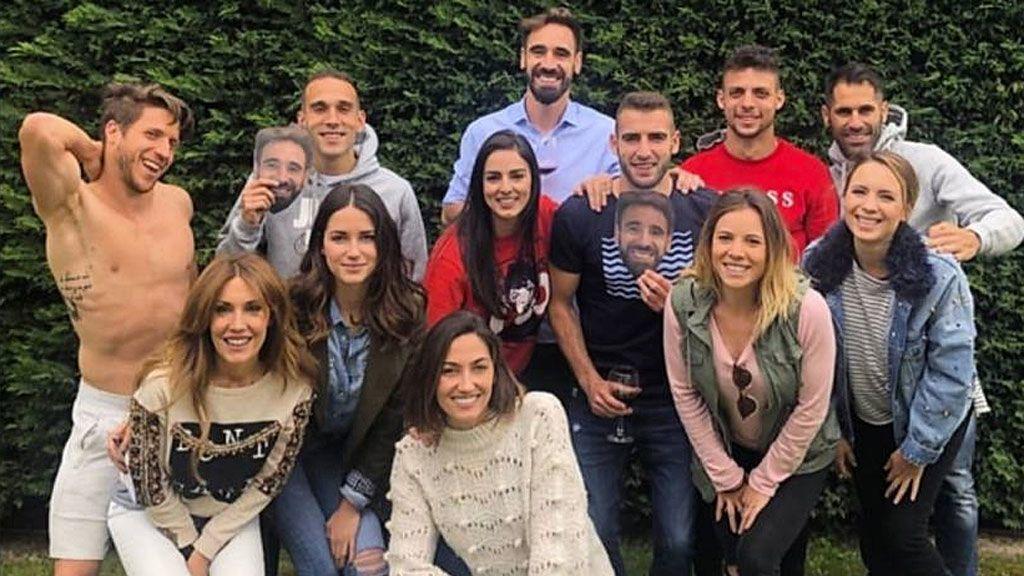 La foto de la barbacoa en la que presuntamente se amañó el Valladolid - Valencia
