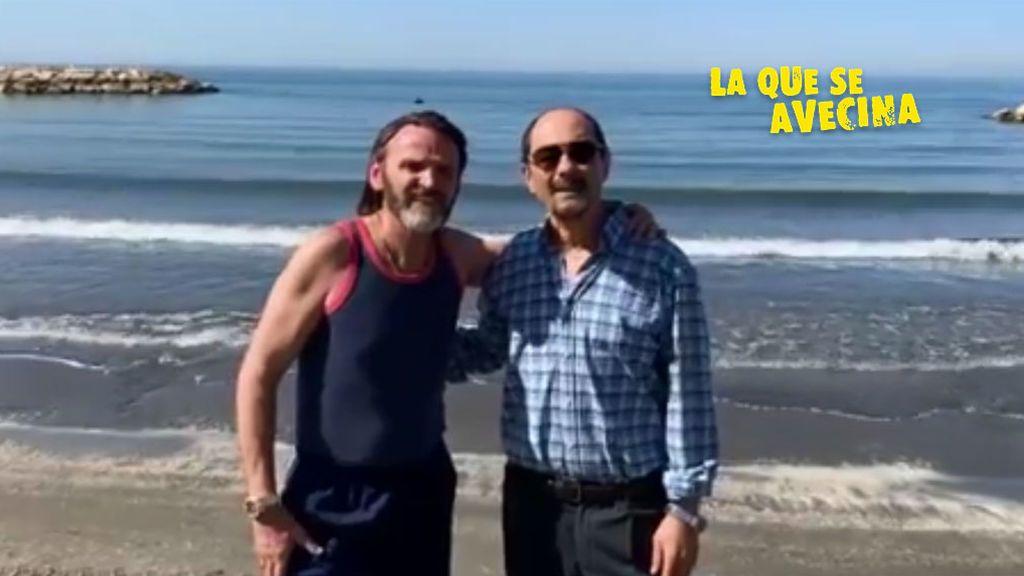 Fernando Tejero y Jordi Sánchez se despiden de la grabación de la temporada 12 de 'LQSA'