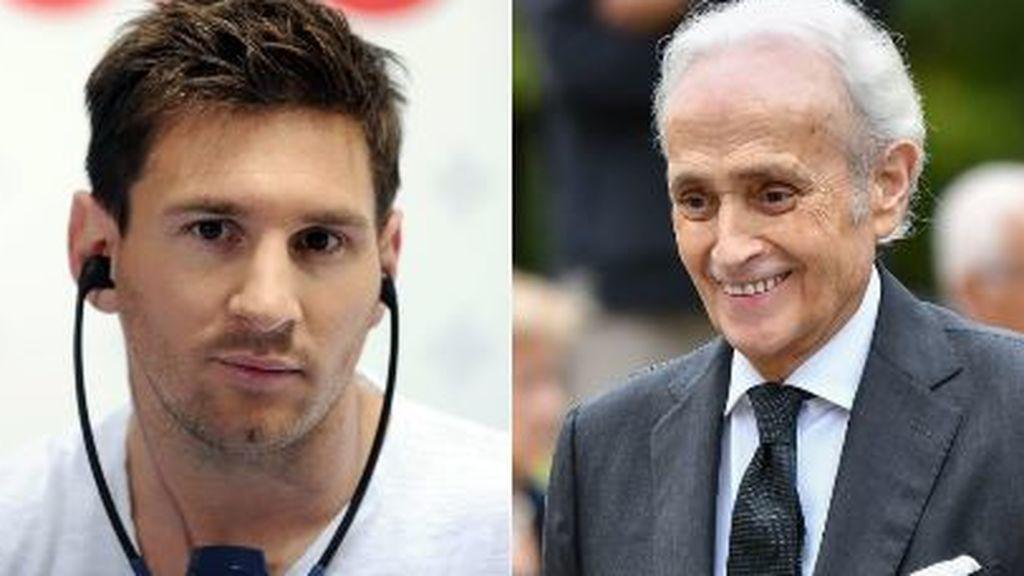 Leo Messi y Josep Carreras unen fuerzas contra la leucemia infantil con una colaboración entre sus fundaciones