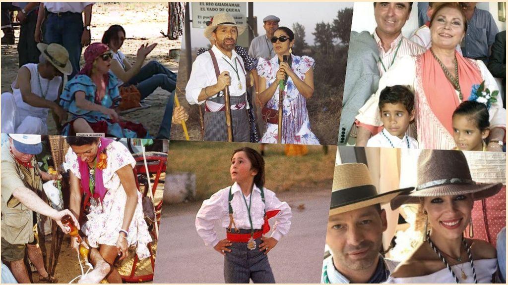 Rocío Remember: Los momentazos más top de los famosos haciendo el Camino hacia la Blanca Paloma