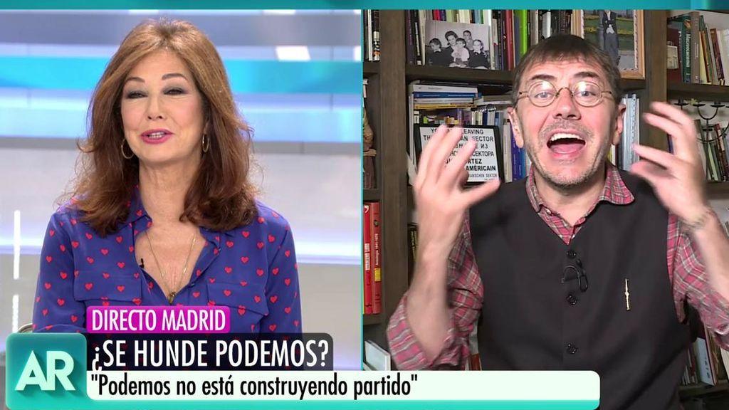 """El rifirrafe entre Monedero y Ana Rosa: """"Eres el corazón de la derecha española"""""""