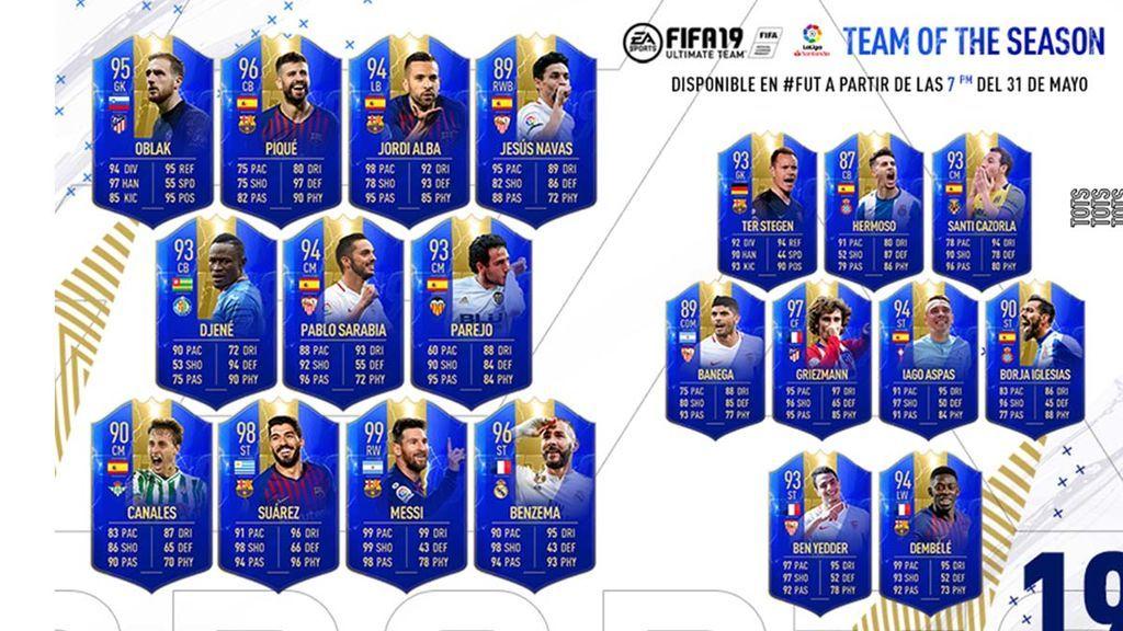TOTS LaLiga FIFA19