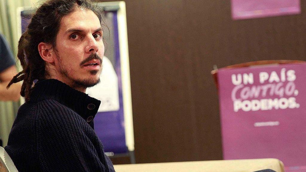 Alberto Rodríguez será el sustituto de Pablo Echenique al frente de la secretaría de organización de Podemos