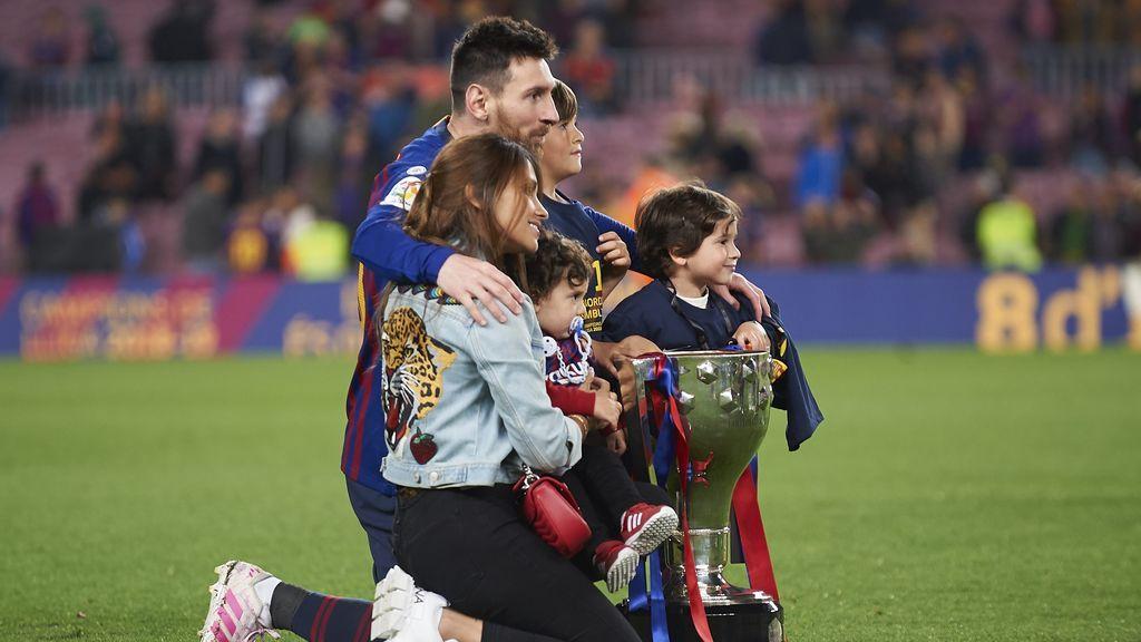 """Messi: """"Mi hijo Mateo dice que es del Liverpool y del Valencia y pica a su hermano cantando los goles del Real Madrid"""""""