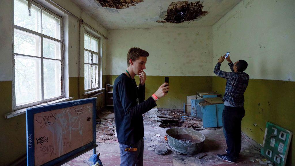 El arriesgado turismo fotográfico en la abandonada Chernóbil