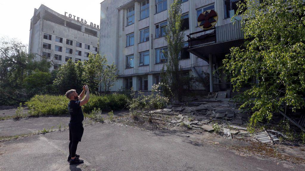 El arriesgado turismo en la abandonada Chernóbil