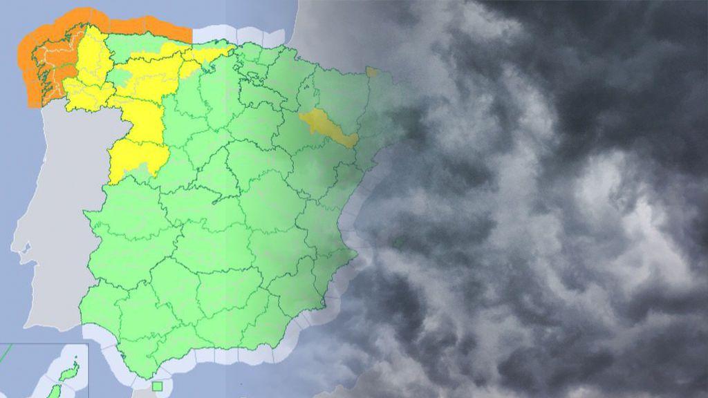 Aviso especial de la Aemet: la borrasca 'Miguel' traerá vientos huracanados e intensas lluvias