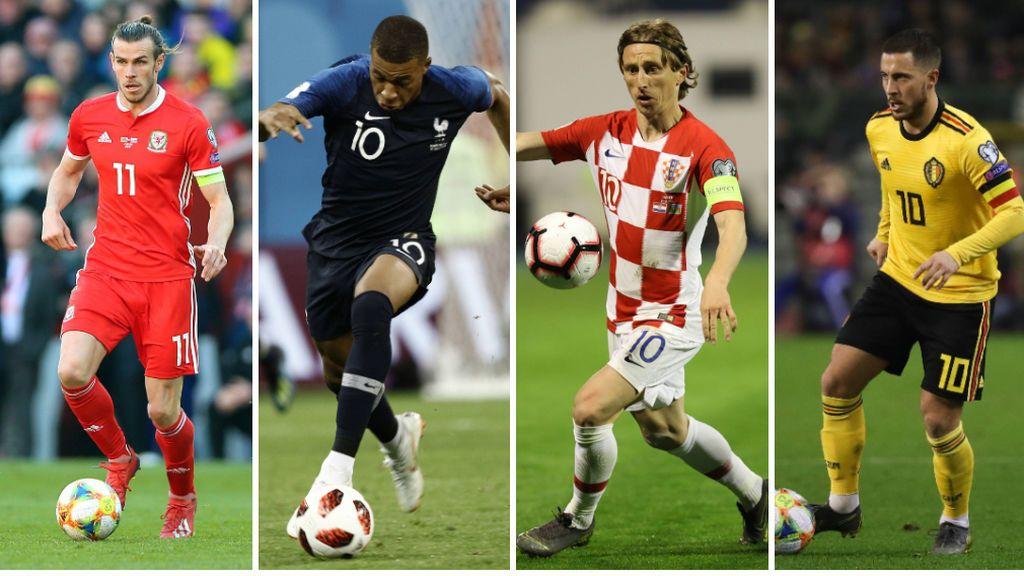 Croacia - Gales y Turquía - Francia, este sábado y el martes, Azerbayan - Eslovaquía y Bélgica Escocia en Cuatro y Be Mad