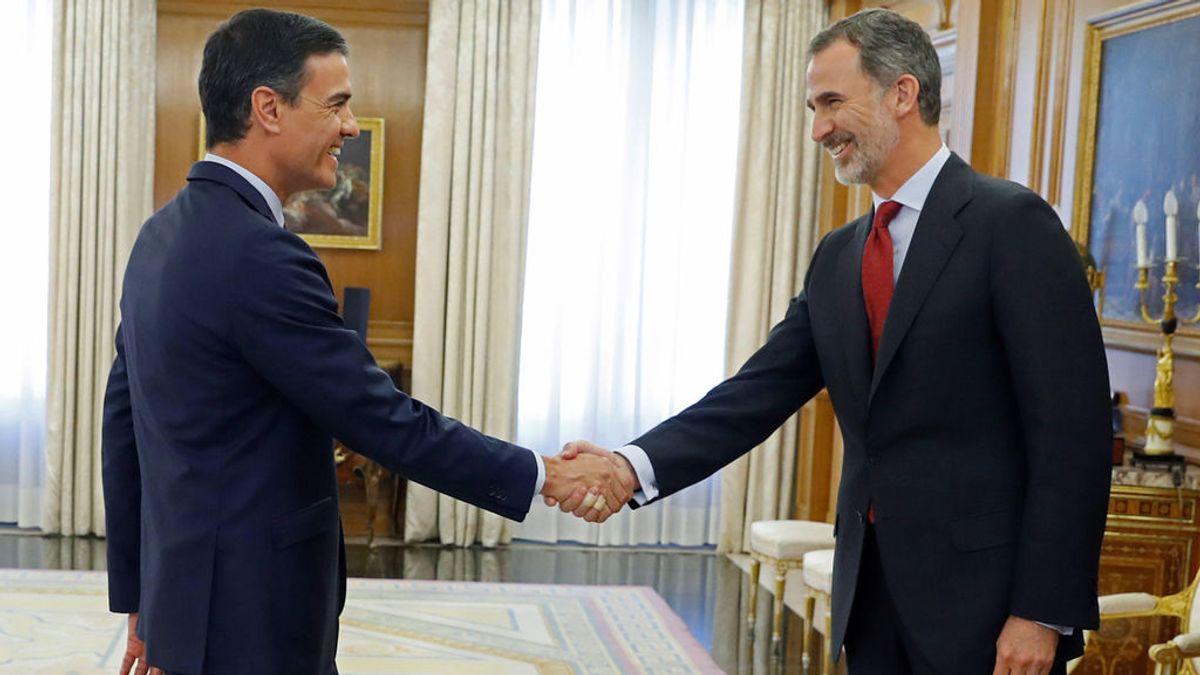 El rey encarga la investidura de Pedro Sánchez
