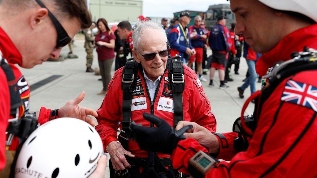 Veteranos de Normandía recuerdan el 75 aniversario del desembarco que liberó a Europa