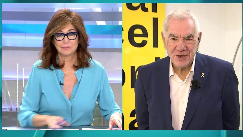 """Ana Rosa, a Maragall: """"Usted y yo nunca llegaremos a un acuerdo en el concepto de democracia"""""""