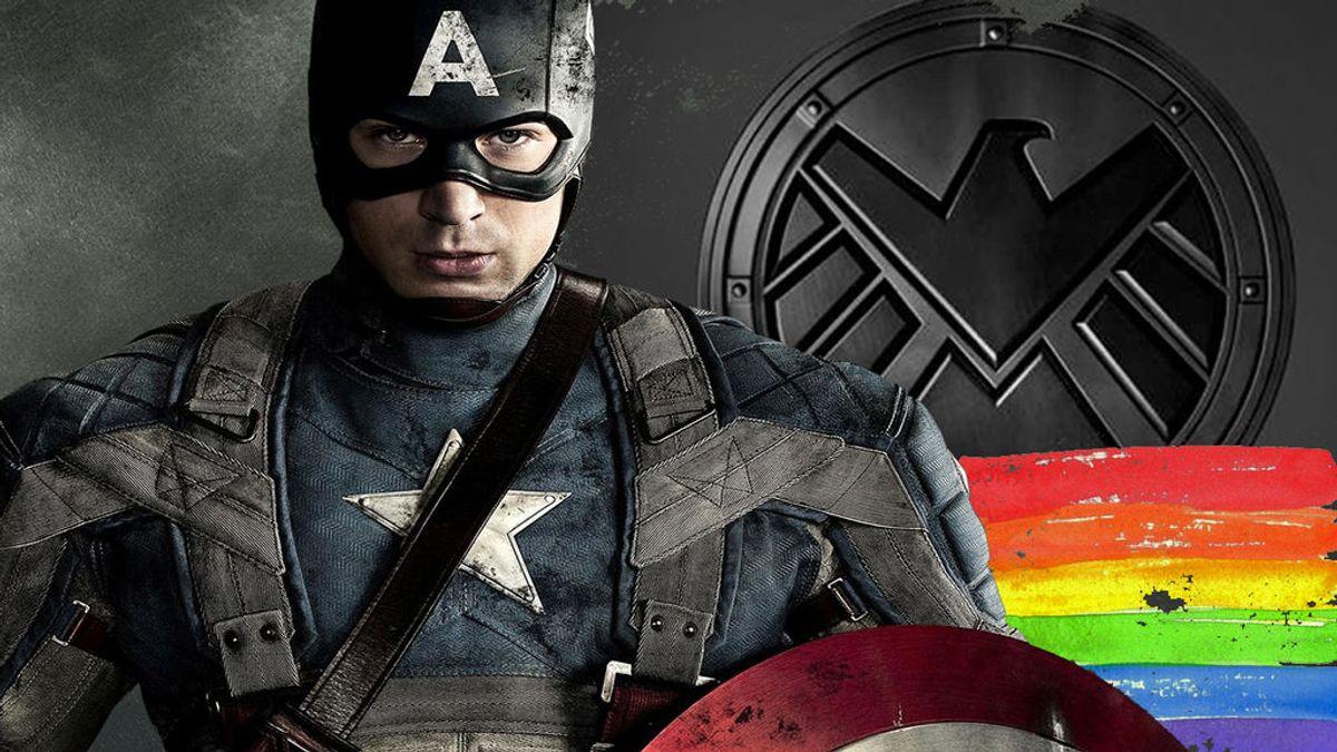 El ídolo de Phil Coulson, el eterno Capitán América, lucha contra la homofobia en redes sociales