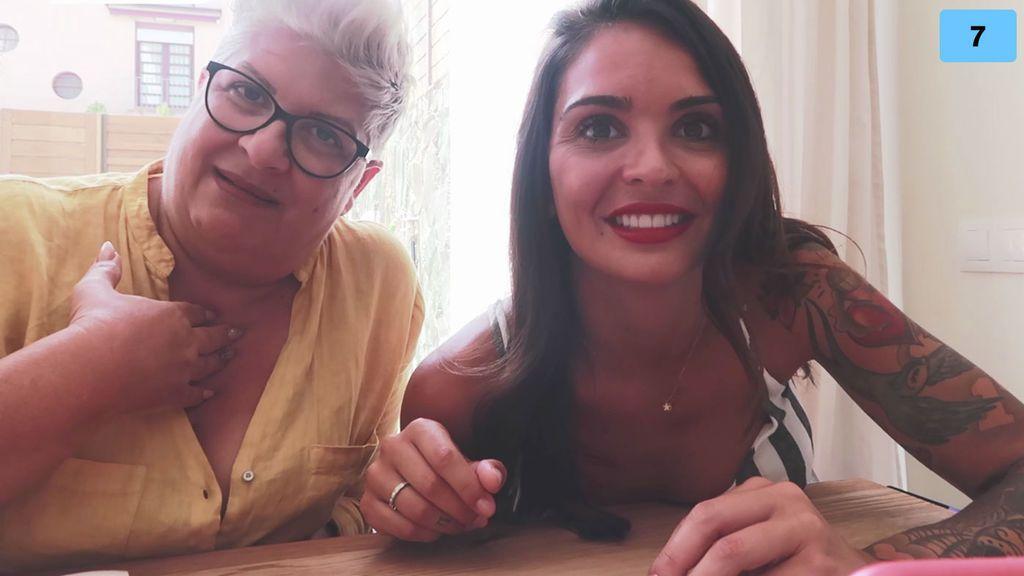 La madre de María explica cómo se lleva con Rubén y cómo vivió el paso de su niña por la tele (1/2)