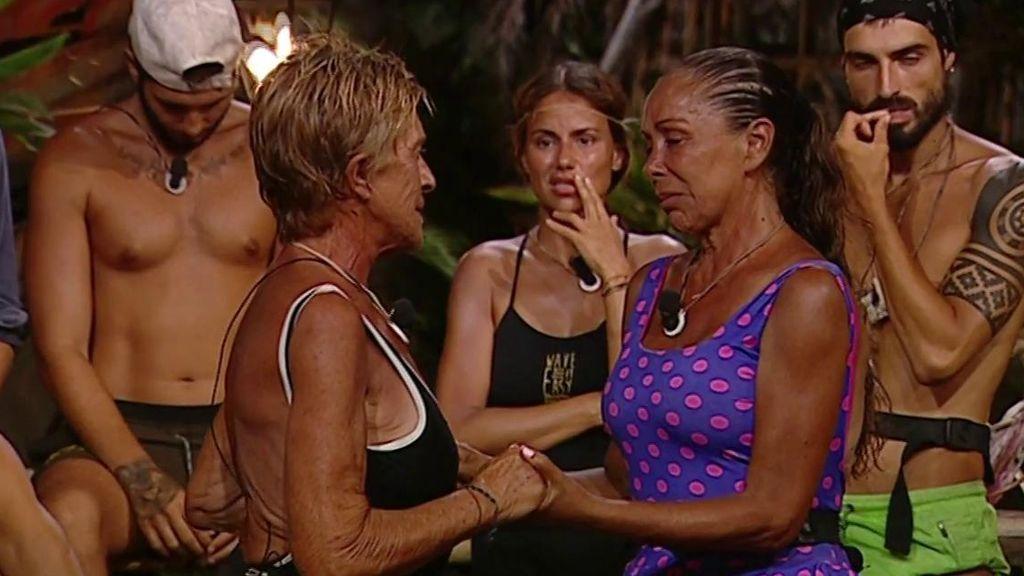 Isabel Pantoja resurge como líder y nos emociona en su lacrimógena despedida con Chelo