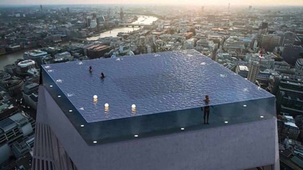 Londres albergará la primera piscina infinita con vistas de 360 grados