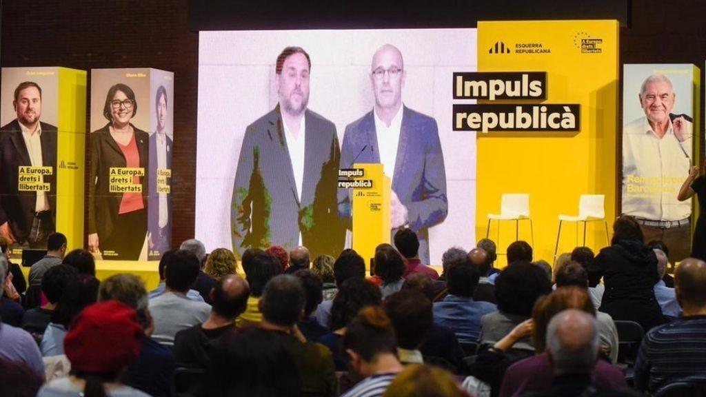 Junqueras y Romeva retan al Congreso y al Senado y exigen que se retire su suspensión de forma inmediata