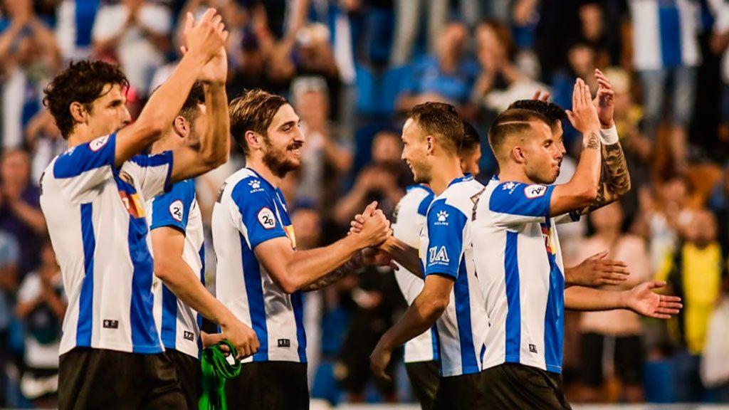 Mirandés-Recreativo de Huelva y Hércules-Logroño, la fase de ascenso a la Liga123 este domingo en Cuatro