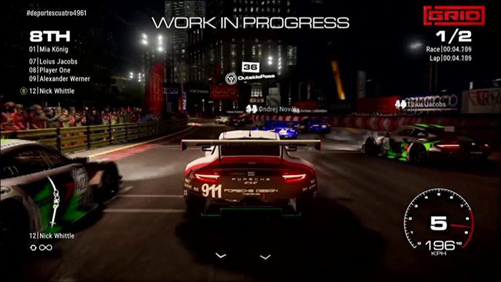 Alonso será el consultor de carreras de Grid, el nuevo videojuego en el que podrás competir contra el piloto