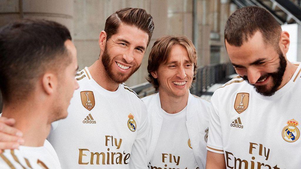 La nueva equipación del Real Madrid es de oro