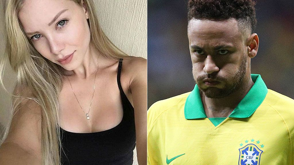"""La conversación entre Neymar y la modelo que acusa al brasileño de violación: """"De las marcas tú también fuiste culpable"""""""