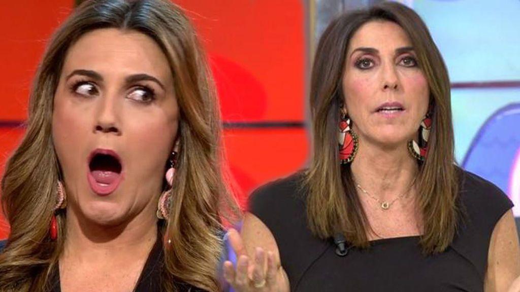 Paz Padilla y Carlota Corredera llevan el mismo vestido a la boda de Belén Esteban en un chat ficticio de WhatsApp