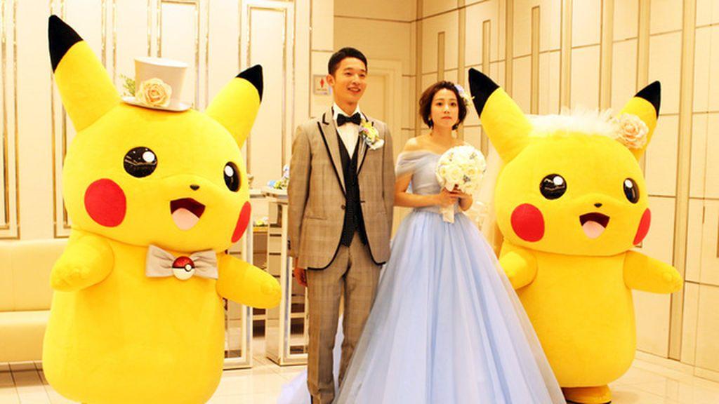 Una boda Pokémon: cómo conseguir que PIkachu sea legalmente el testigo de tu enlace