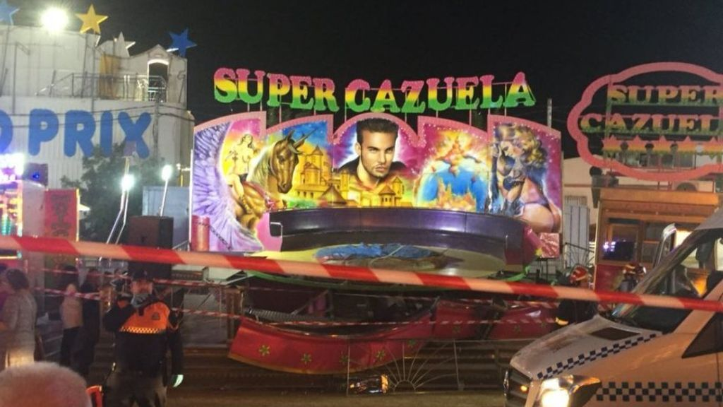 Heridas 28 personas, una de ellas grave, en una atracción de feria en San José de la Rinconada, Sevilla