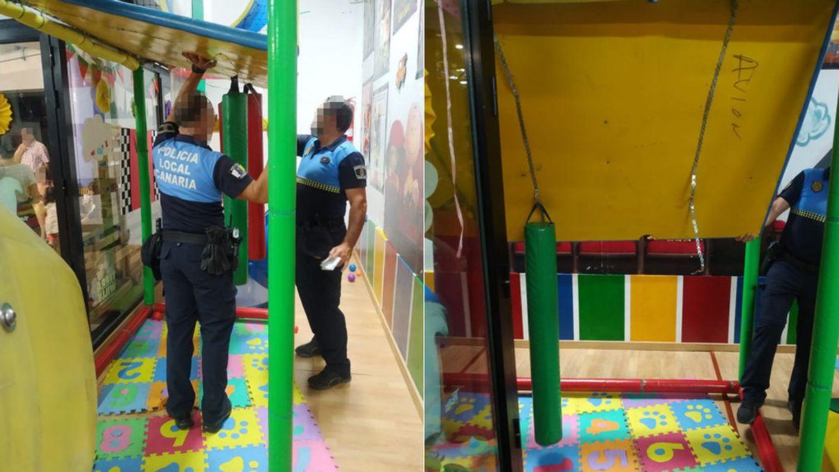 Heridas cinco niñas al ceder una estructura de juegos infantiles en Las Palmas de Gran Canaria